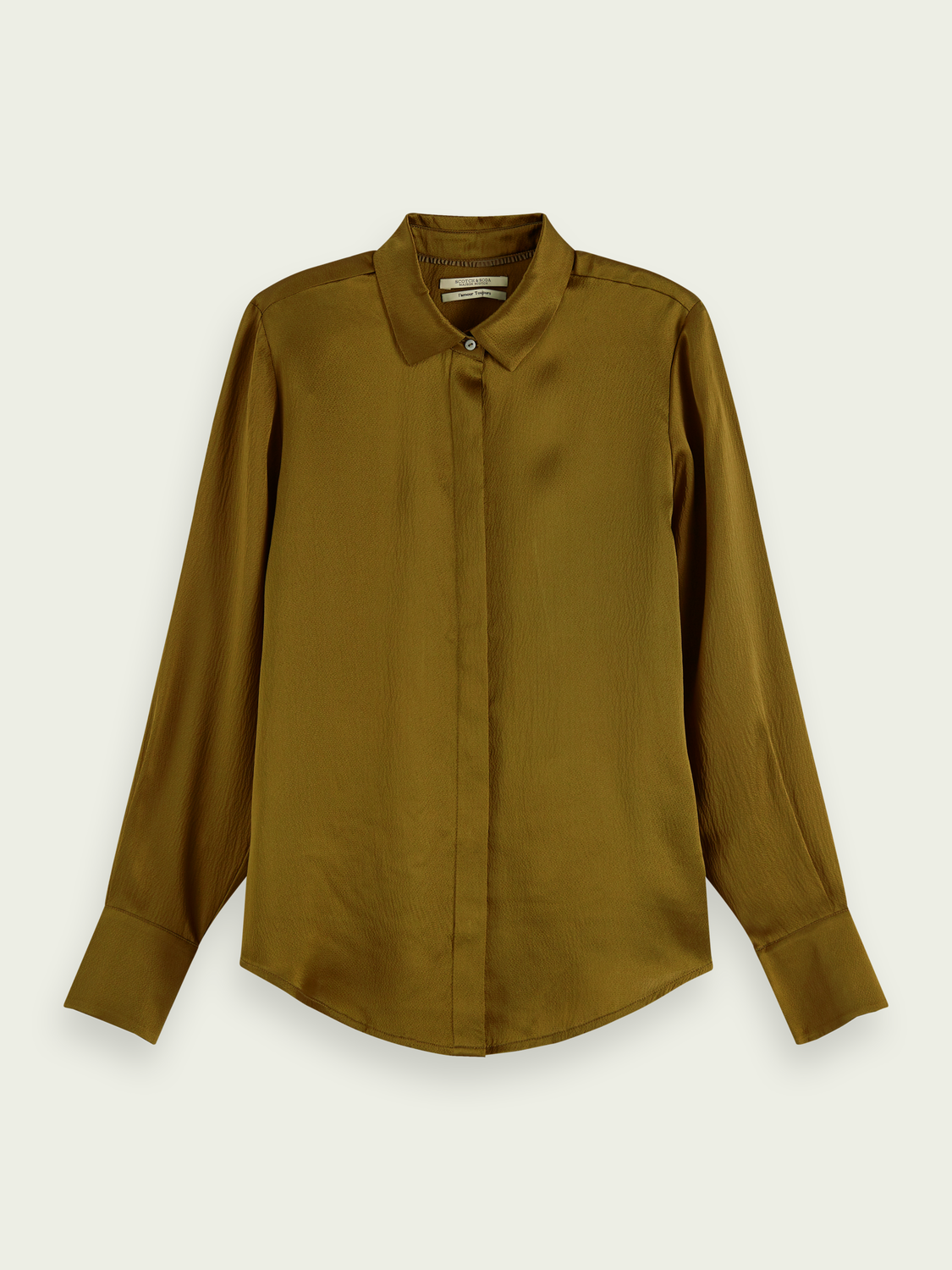 Women Long sleeve shirt 100% silk