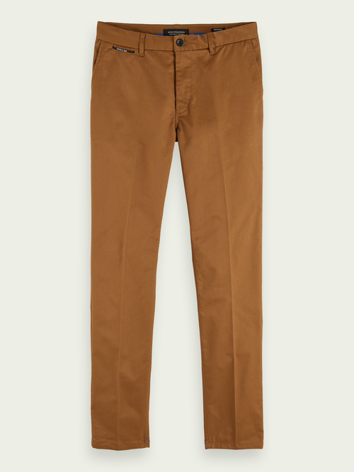 Scotch & Soda STUART SLIM-FIT STRETCH TWILL CHINO