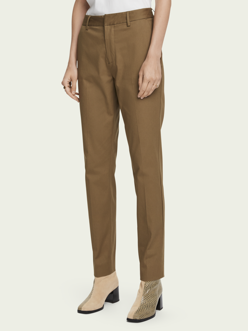 Scotch & Soda Bell – stretch cotton | Mid-rise slim fit chino