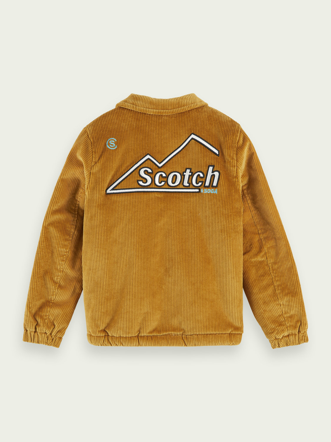 Kids Teddy lining corduroy jacket