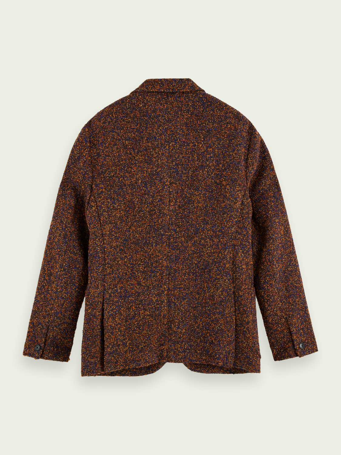 Men Wool-blend boucle blazer