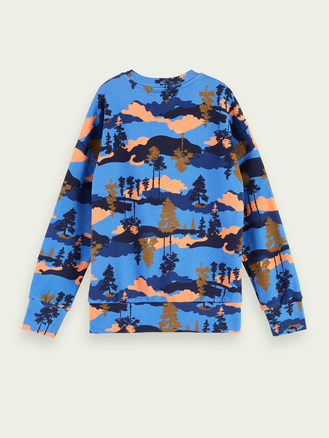 Boys Outdoor-inspired printed sweatshirt