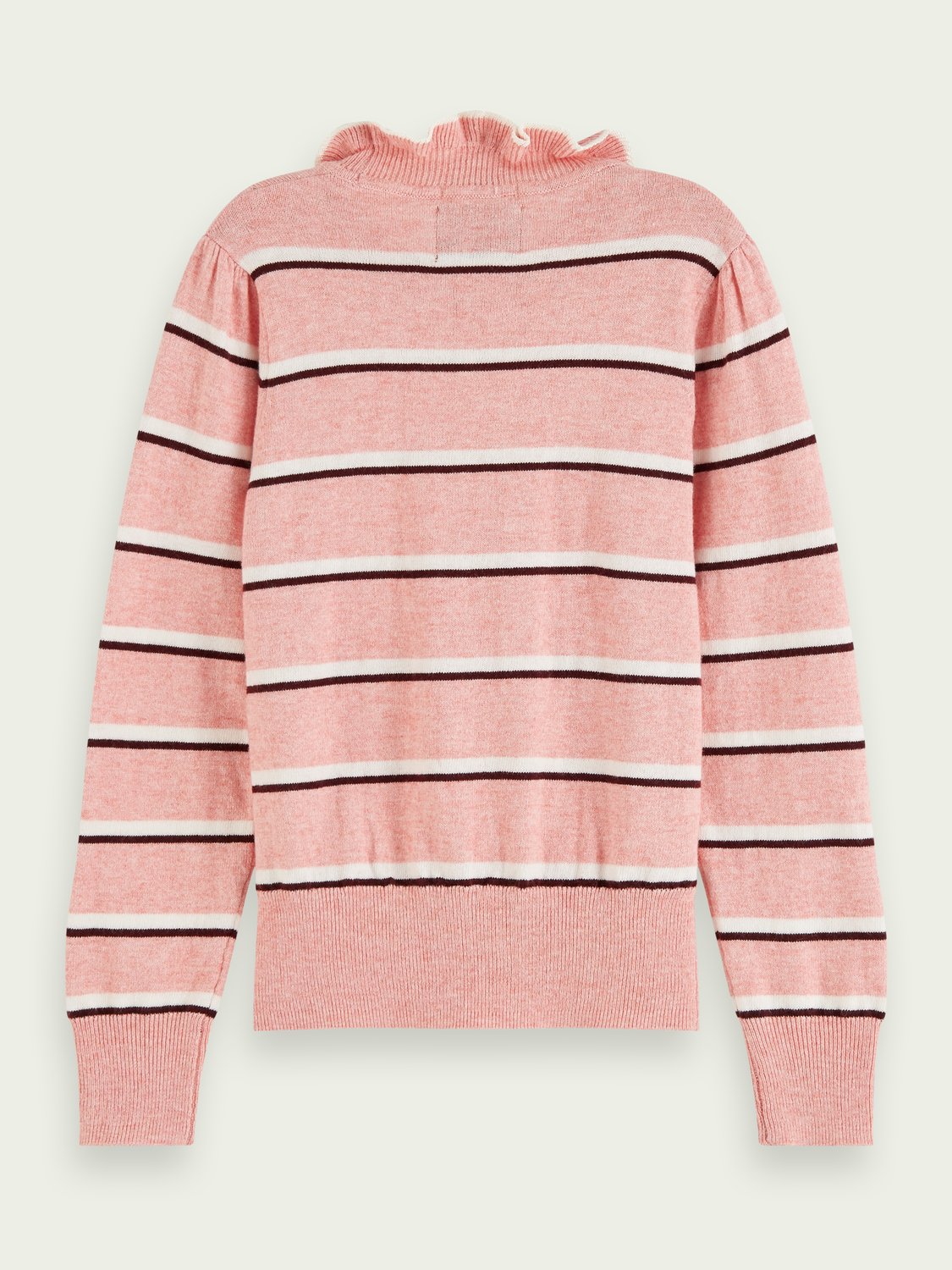 Kids Striped wool-blend pullover