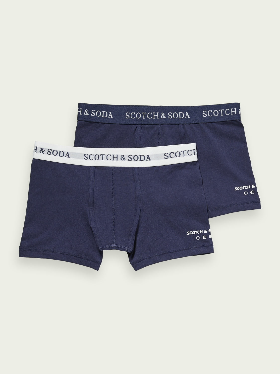 Kids 2-pack cotton boxer shorts