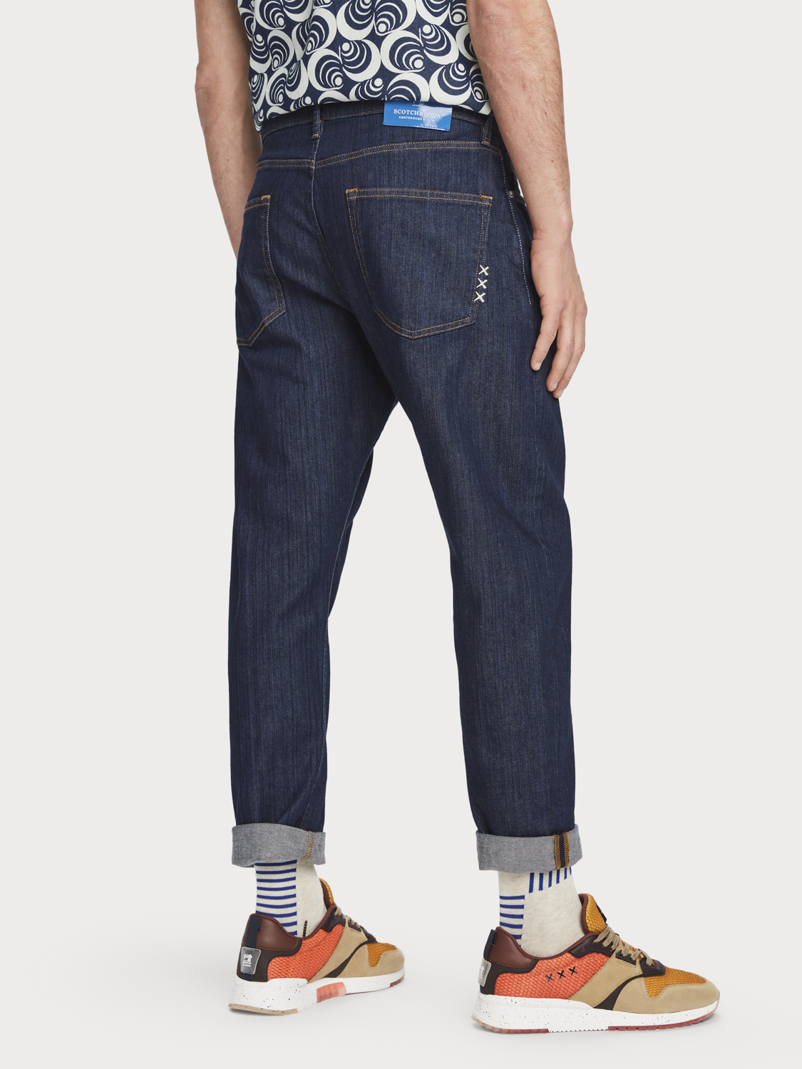 Herrar Dean - Blank Page | Jeans med loose tapered fit