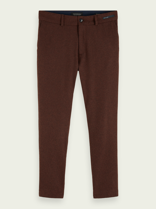 Scotch & Soda STUART SLIM-FIT STRETCH WOOL-BLEND CHINO
