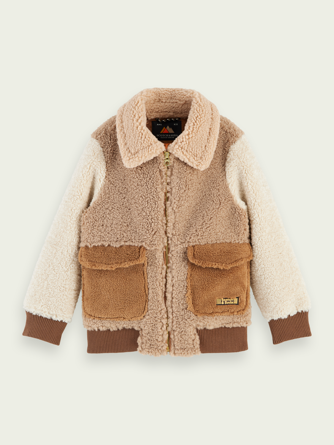 Boys Teddy bomber jacket