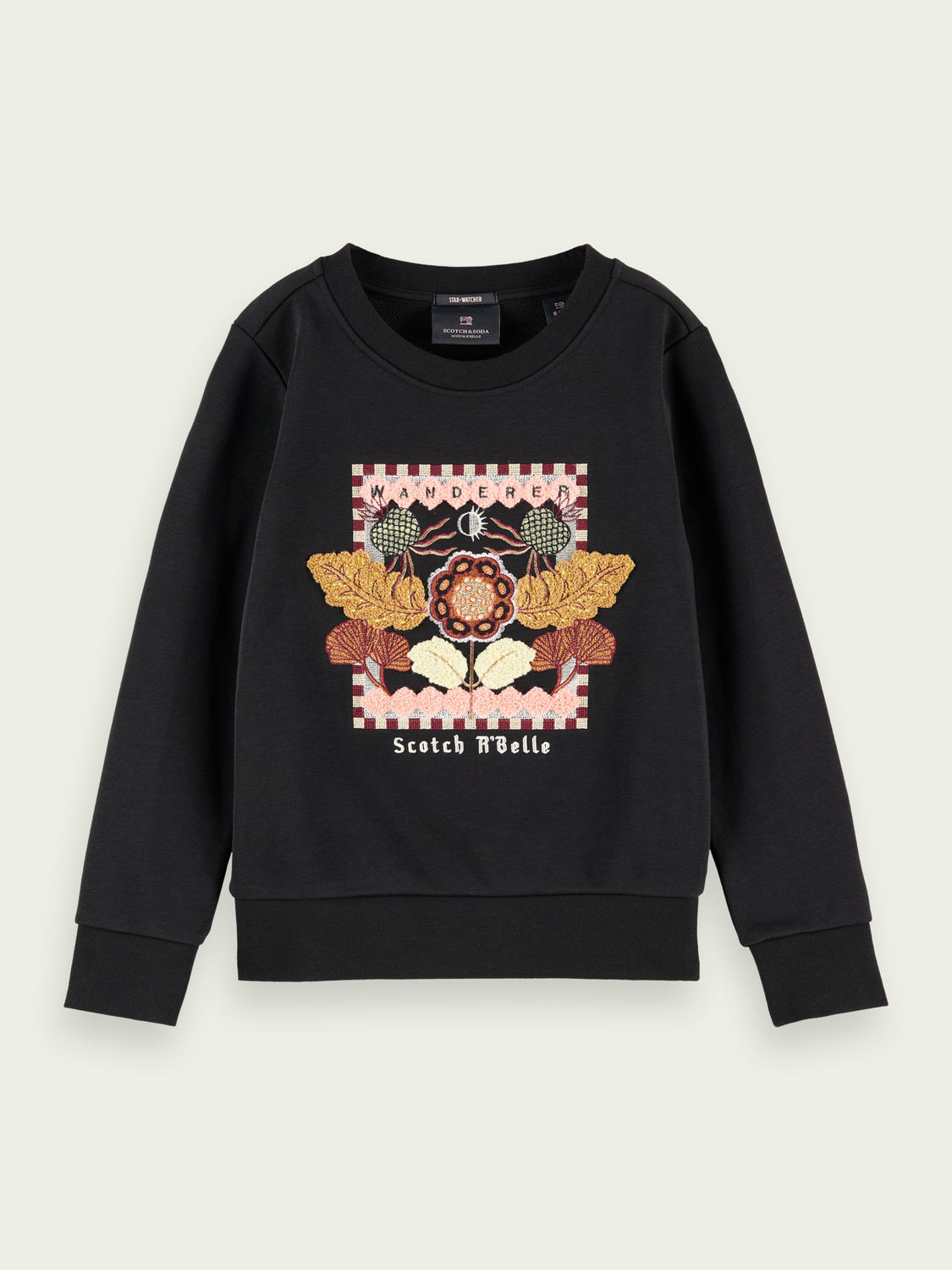 Kinderen Regular fit embroidered sweatshirt