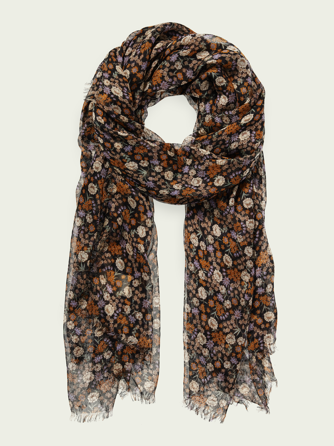 Women Printed lightweight TENCEL™ scarf