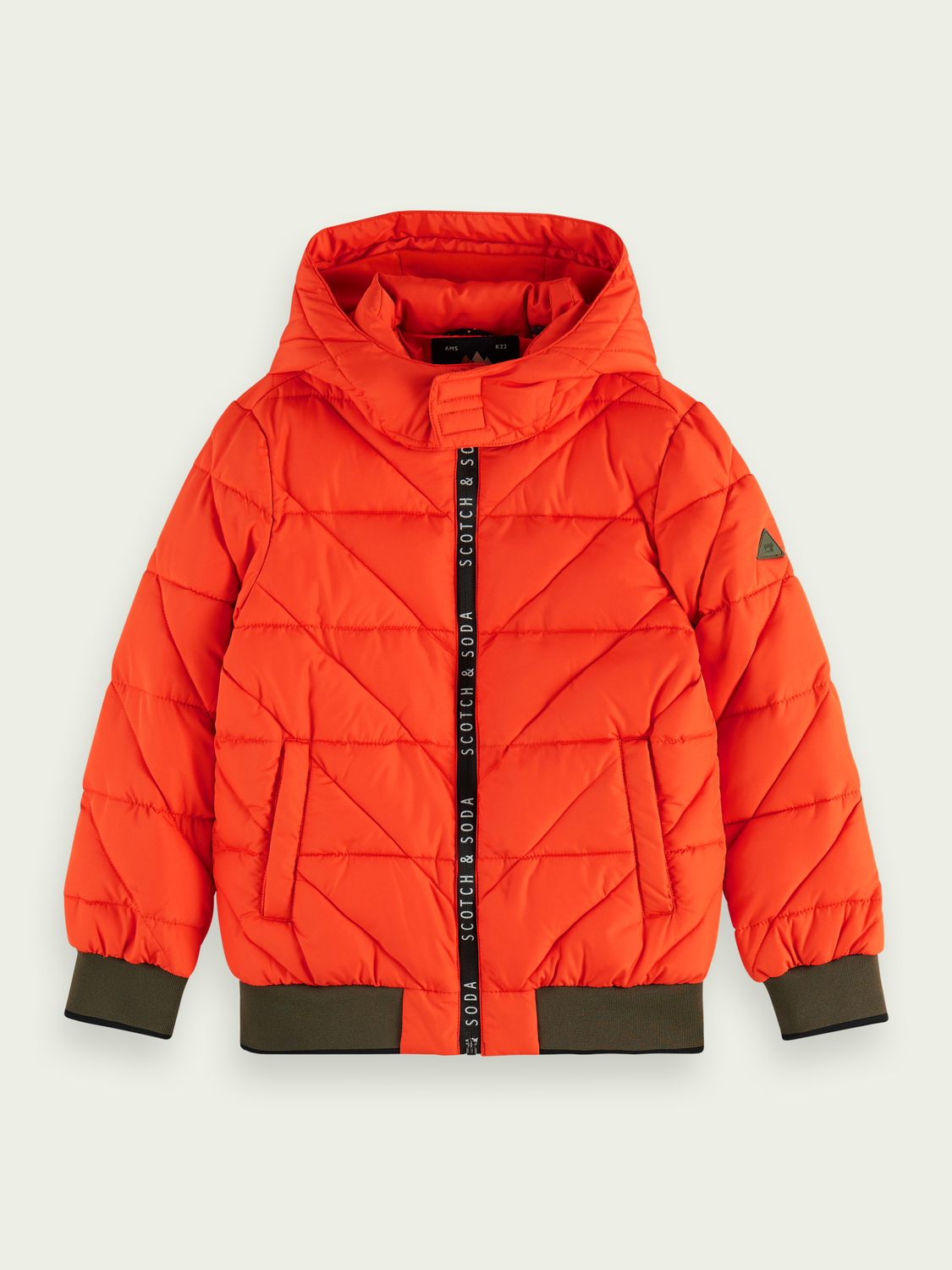 Kids Zip-up padded jacket