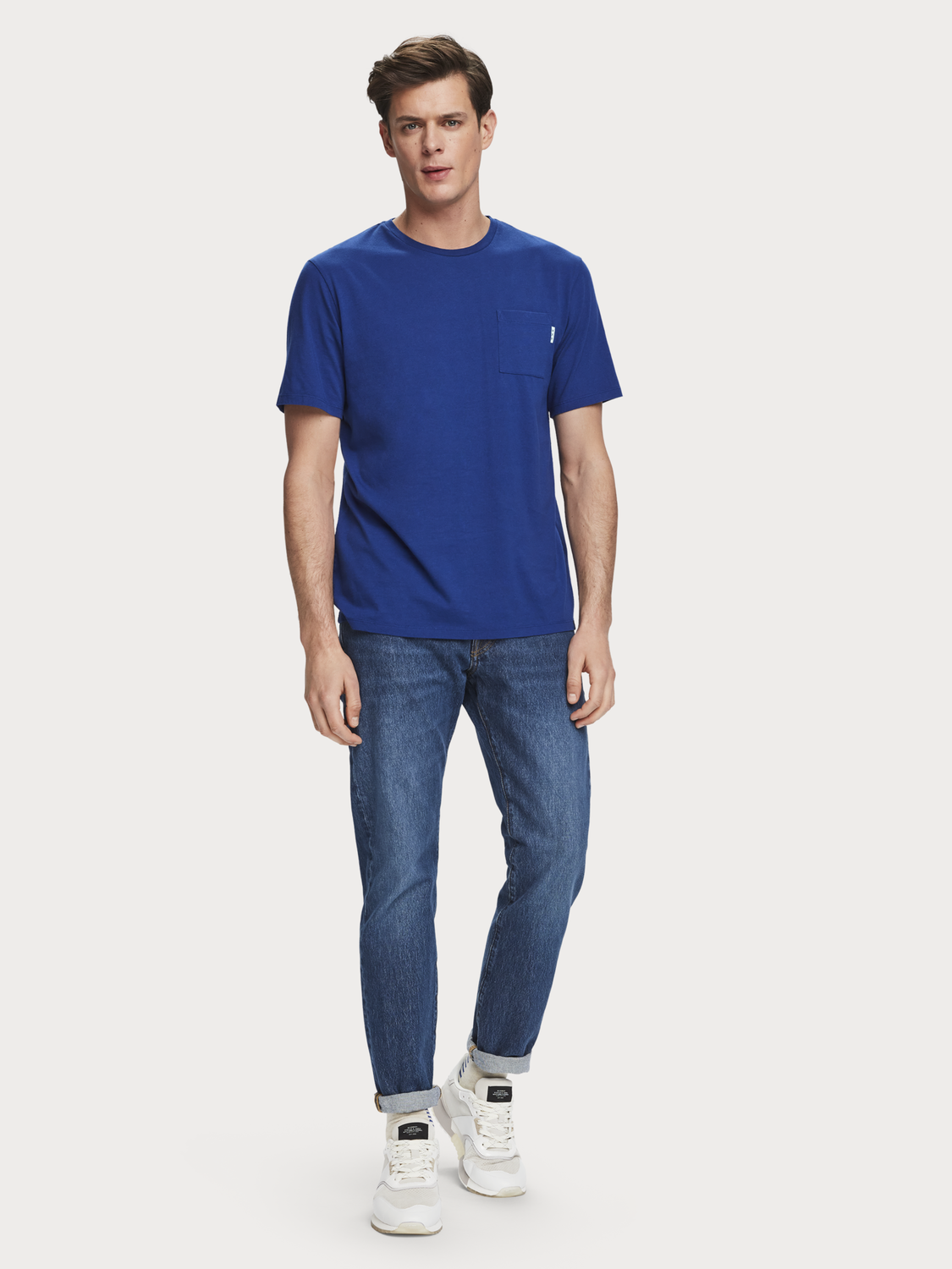 Herrar Ralston - The Blue Gang | Jeans med slim fit