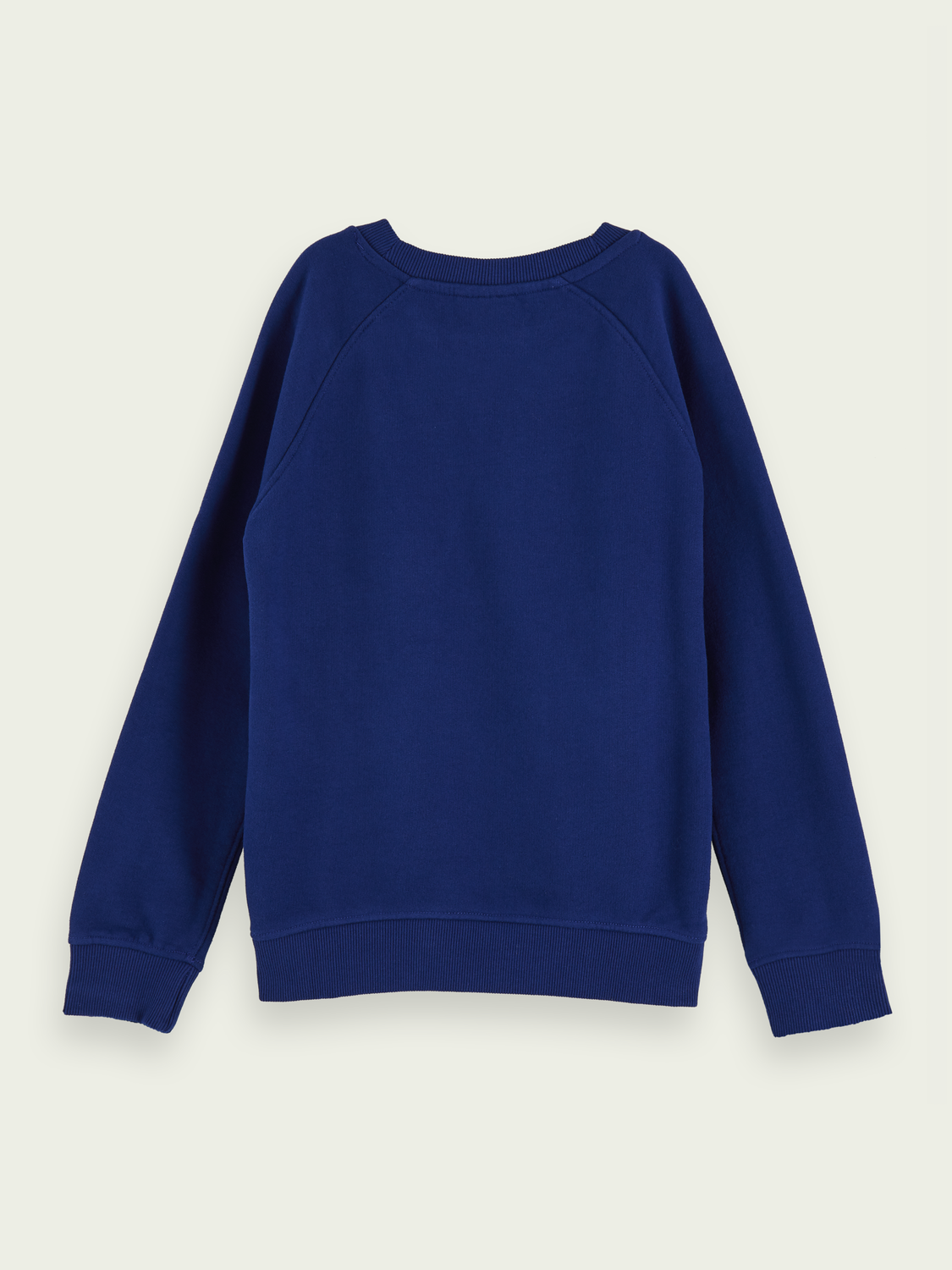 Kids 100% cotton branded crew neck sweatshirt
