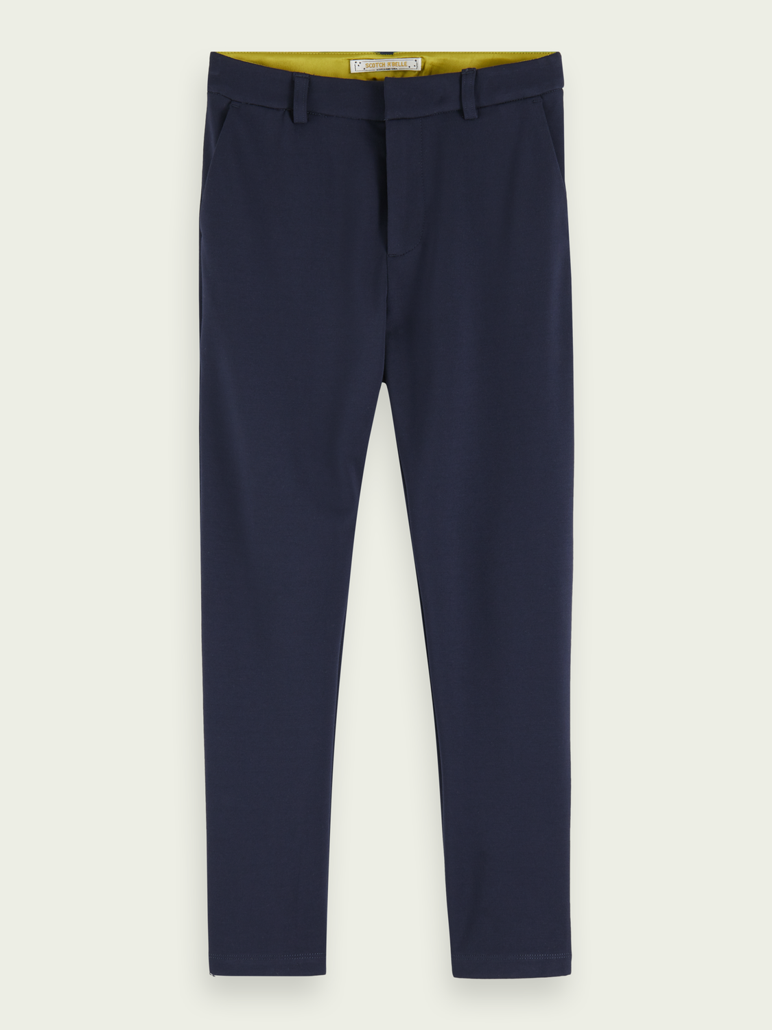 Kids Mid-rise slim fit tailored chinos
