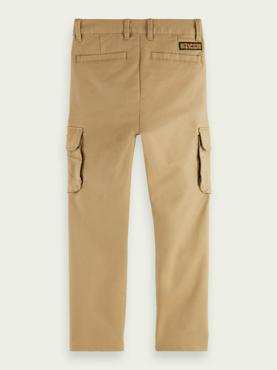 Jongens Clean cargobroek | Loose tapered fit