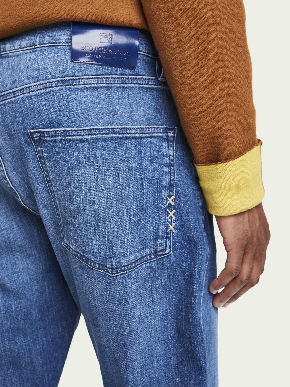 Men Dean - Daily Icon | Loose tapered fit jeans