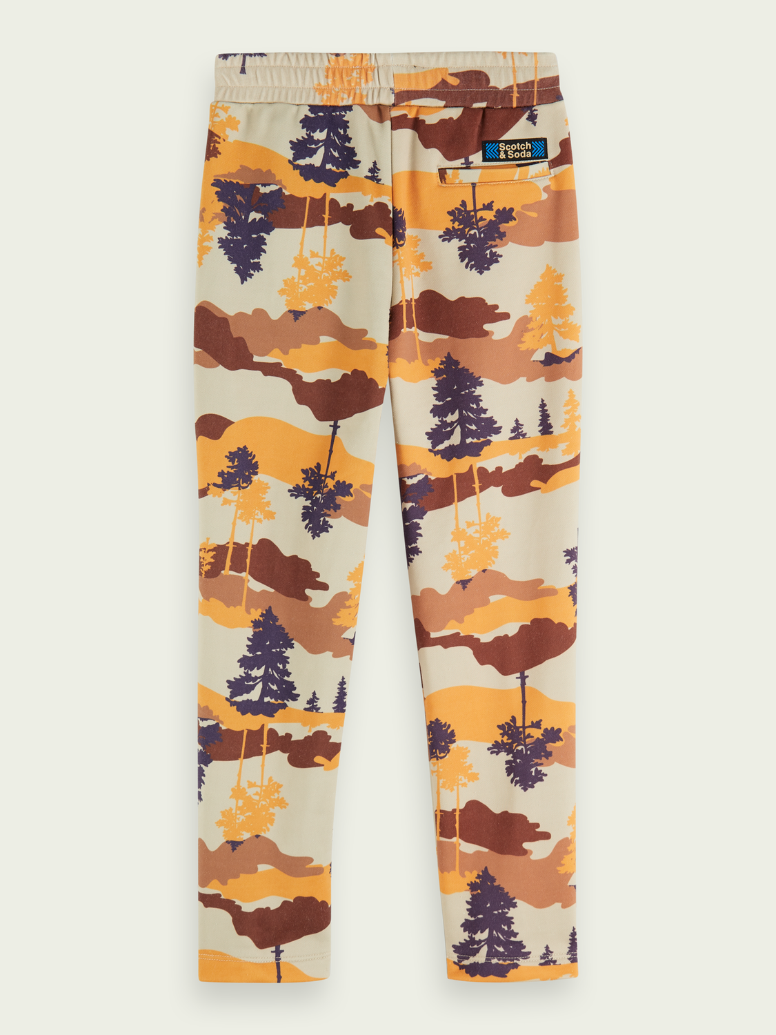 Kids Cotton-blend printed sweatpants
