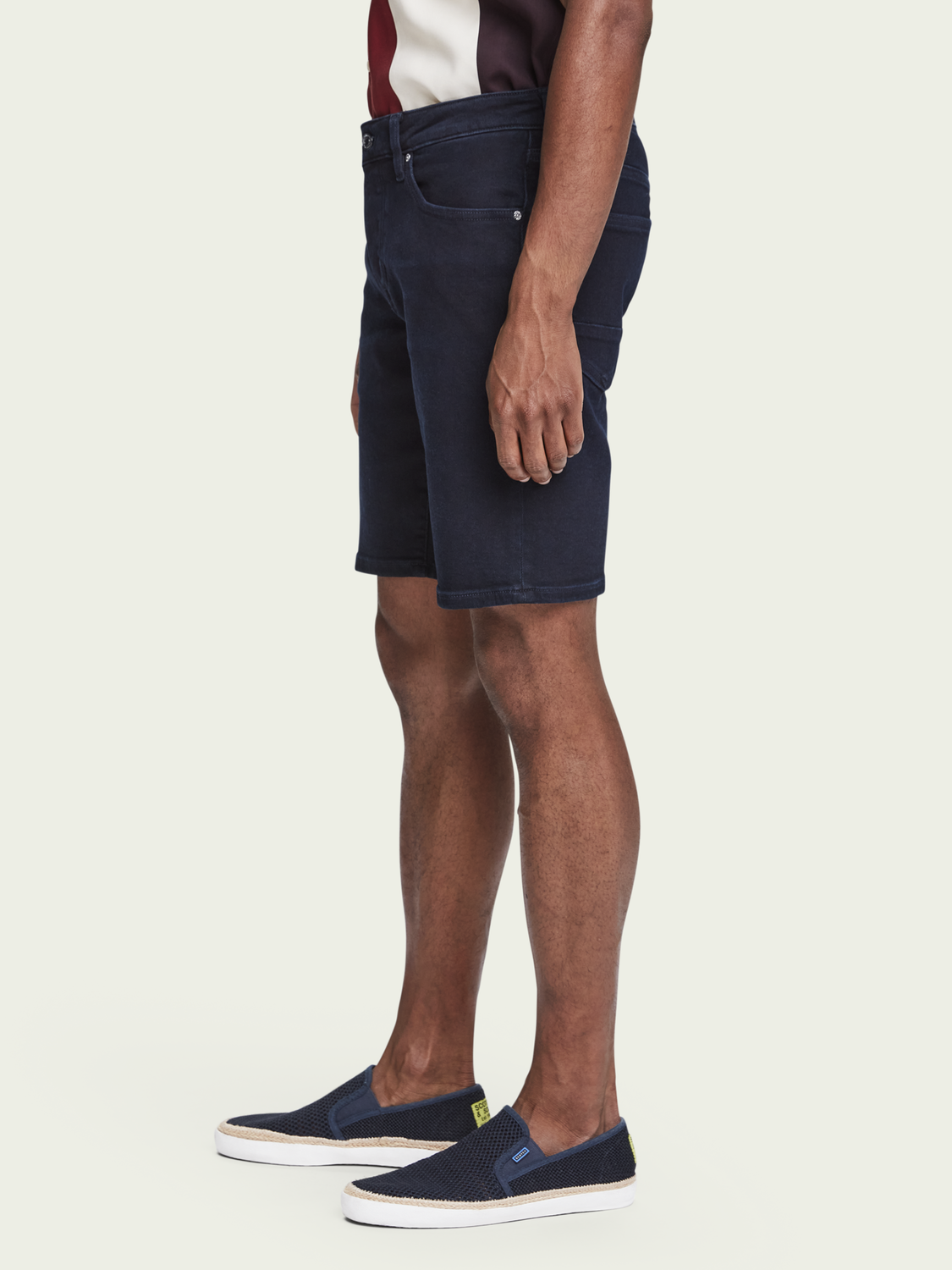 Men Ralston Short - Autumn Mood | Mid-rise slim fit