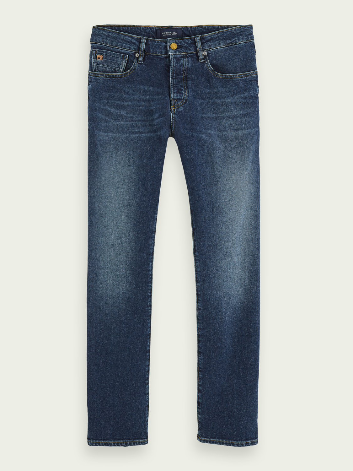 Men Vernon - Blauw Sunset| Regular straight fit