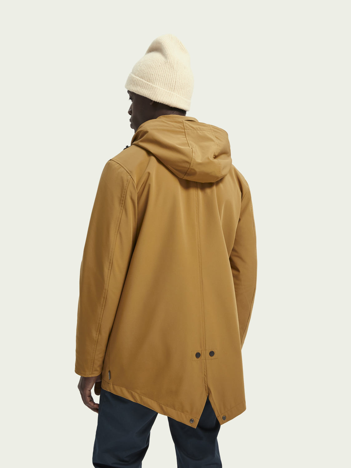 Men Stretch parka jacket
