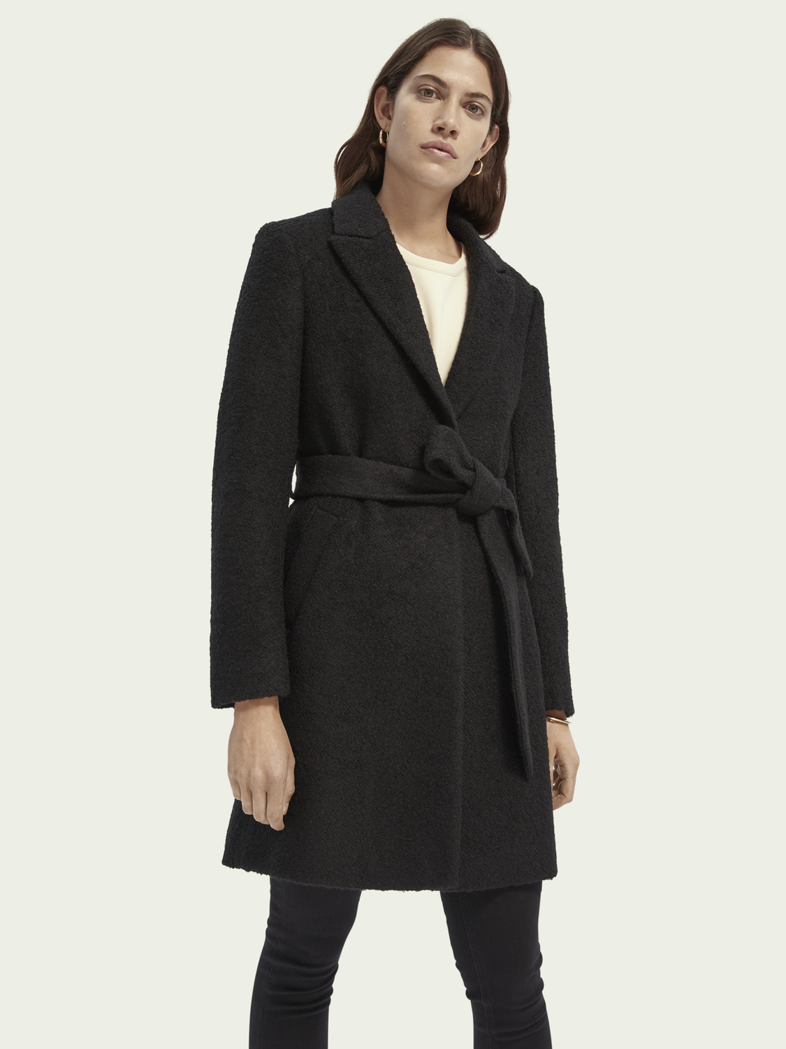Women Tailored wool-blend jacket