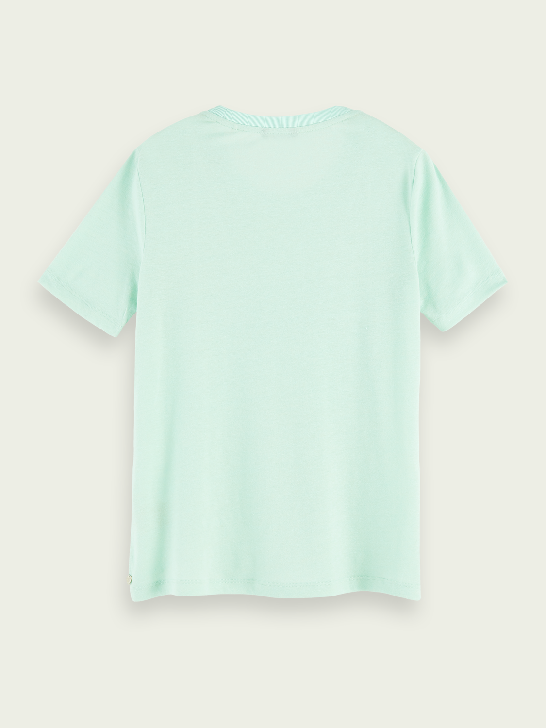 Women Lightweight linen-blend T-shirt