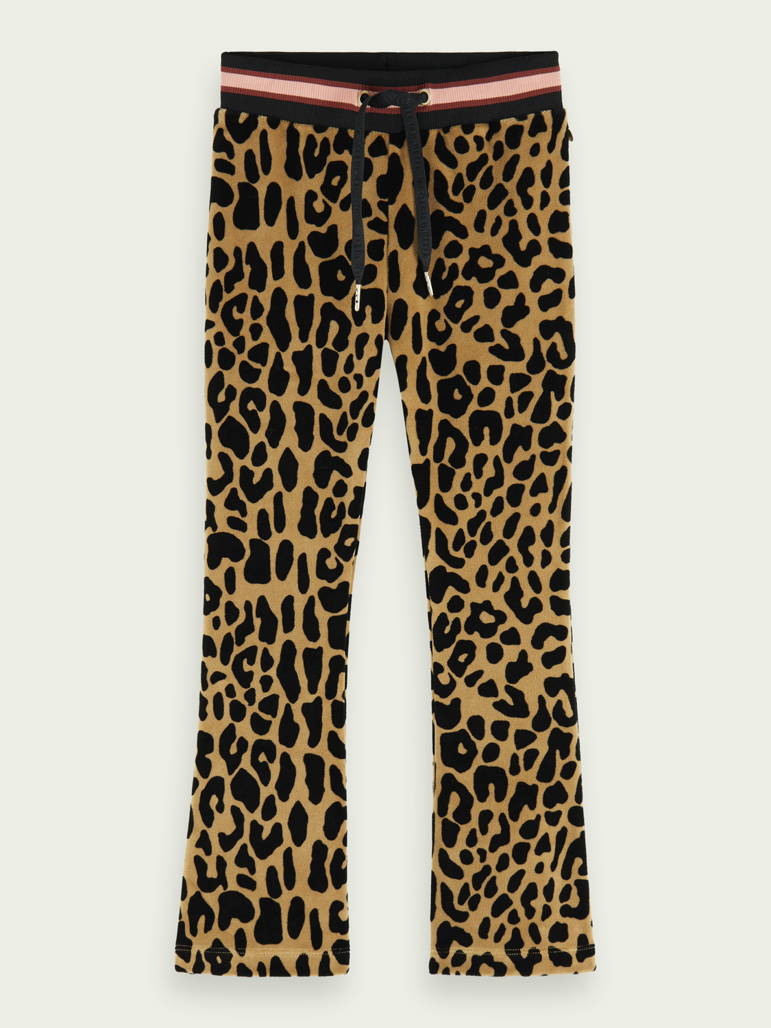 Girls Leopard print flared pants