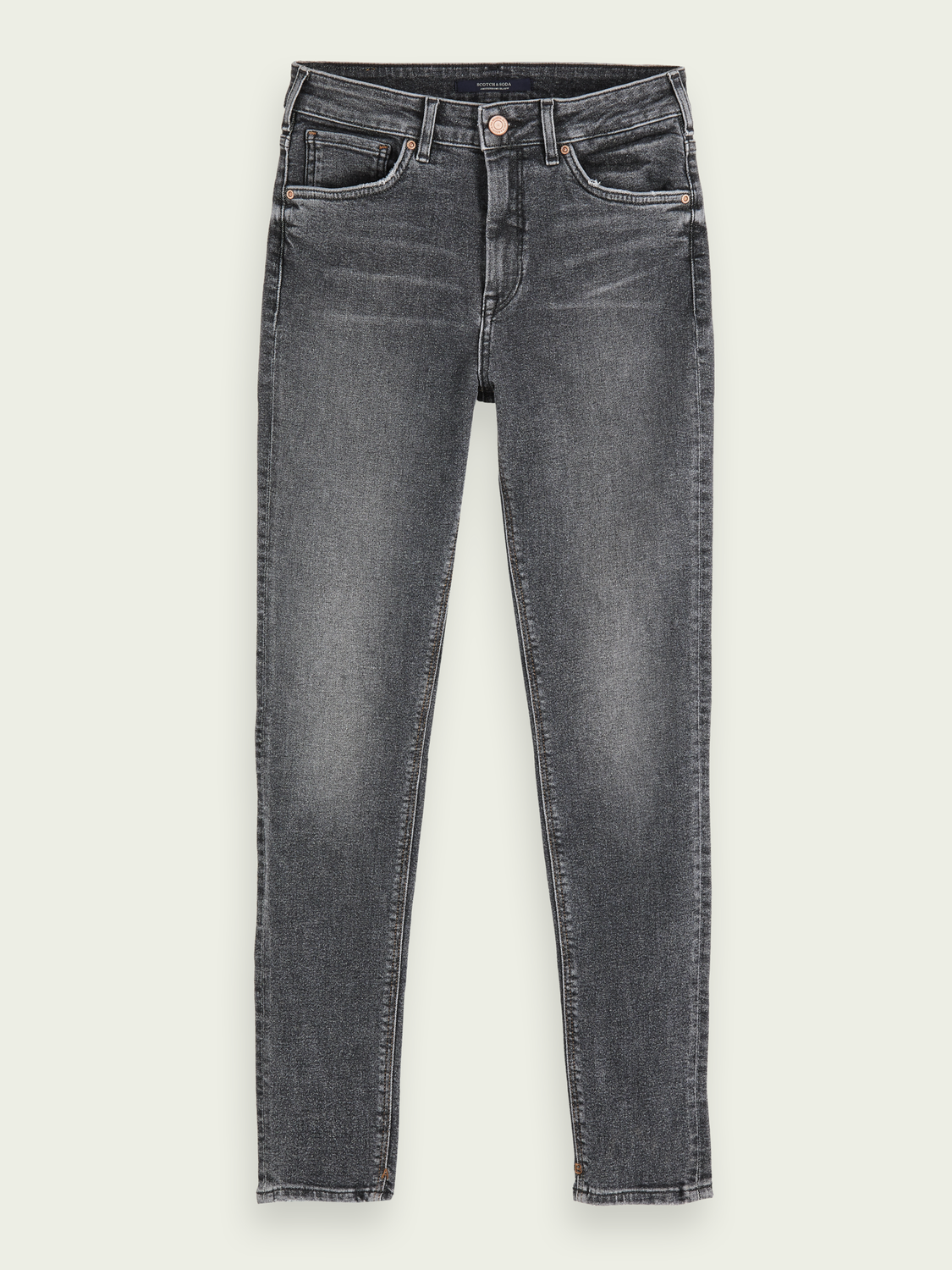 Women Haut - Touch Of Dust | Stretch high-rise skinny fit jeans