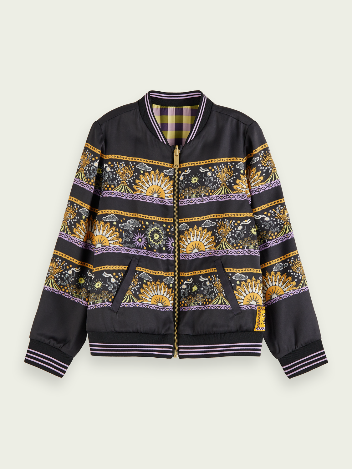 Kids Reversible bomber jacket