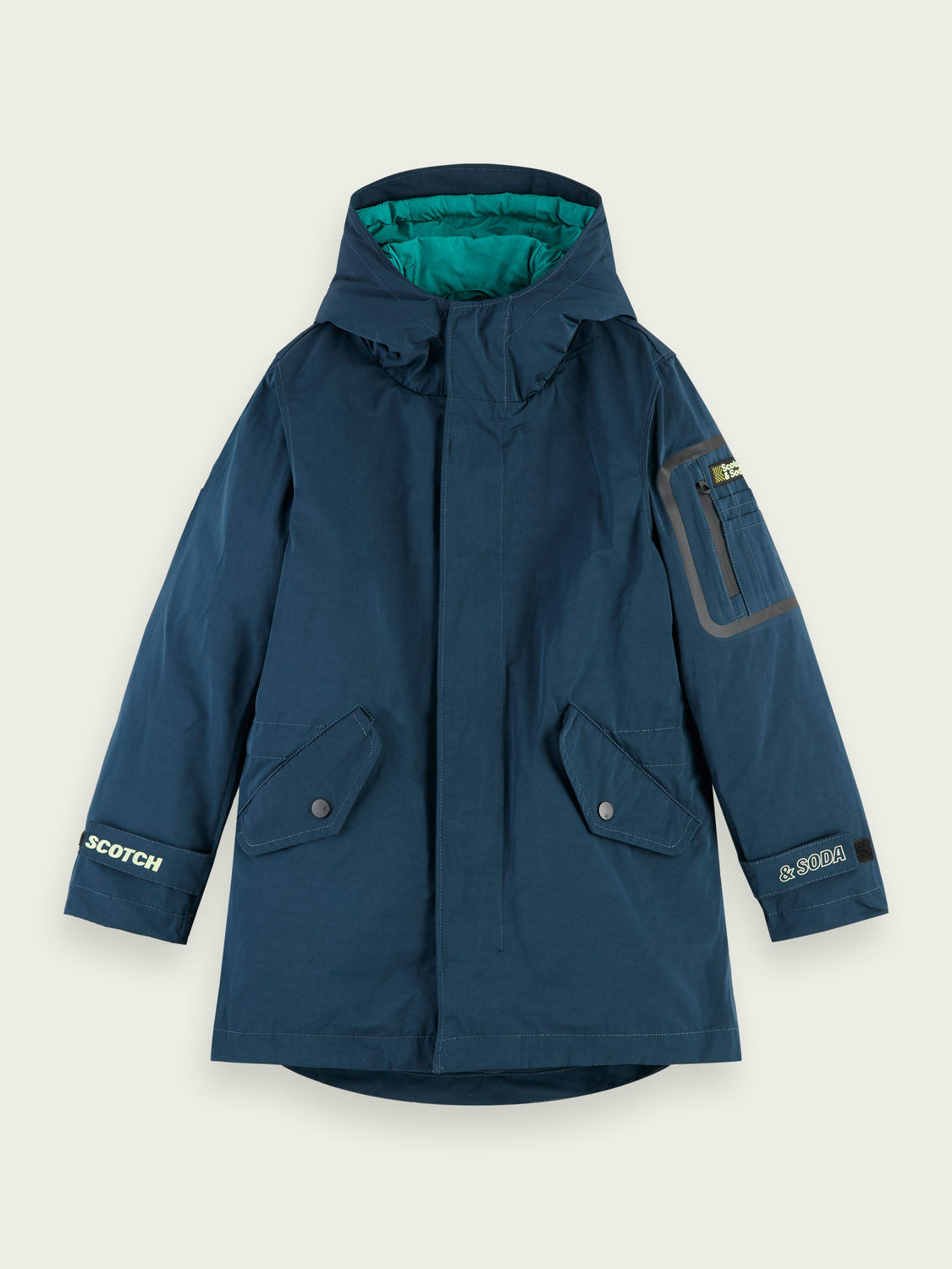 Kids Technical parka