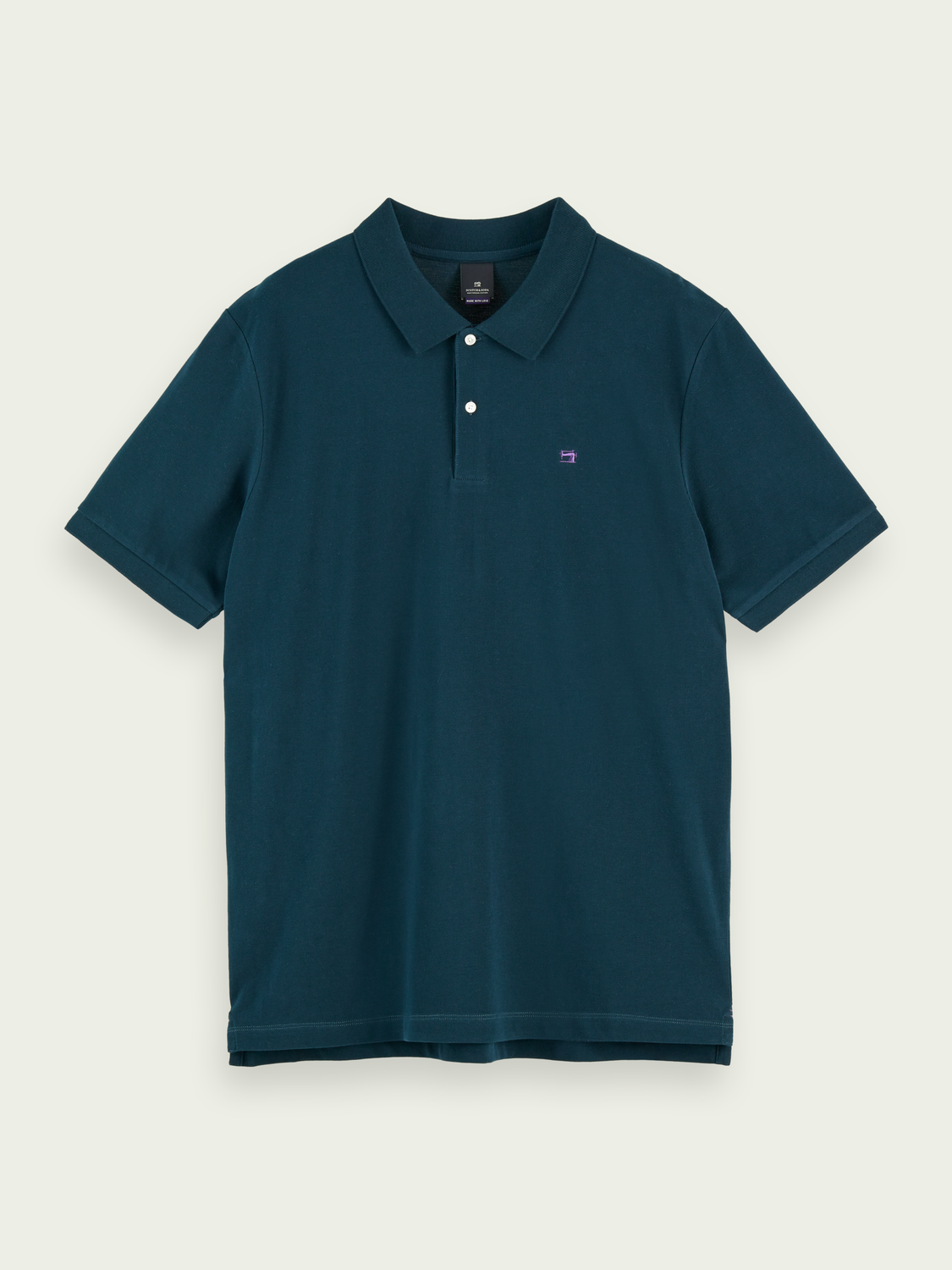 Herrar Pique cotton polo shirt