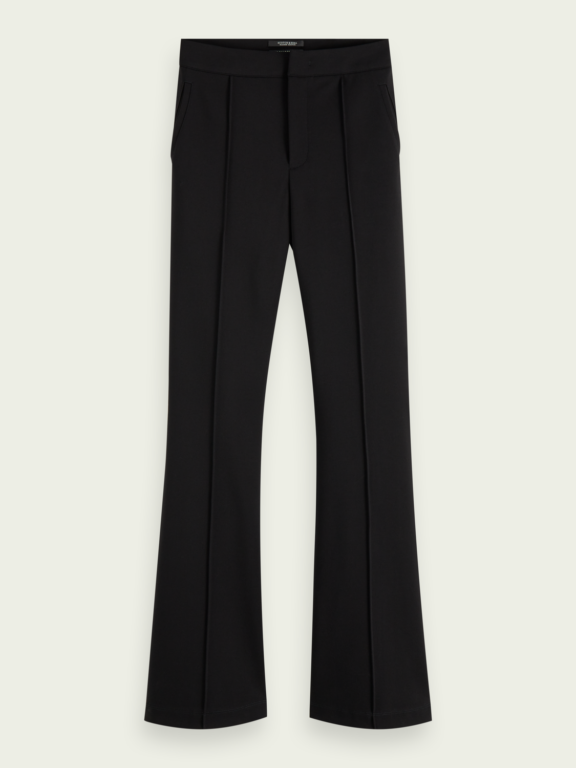 Damer High-rise flared trousers