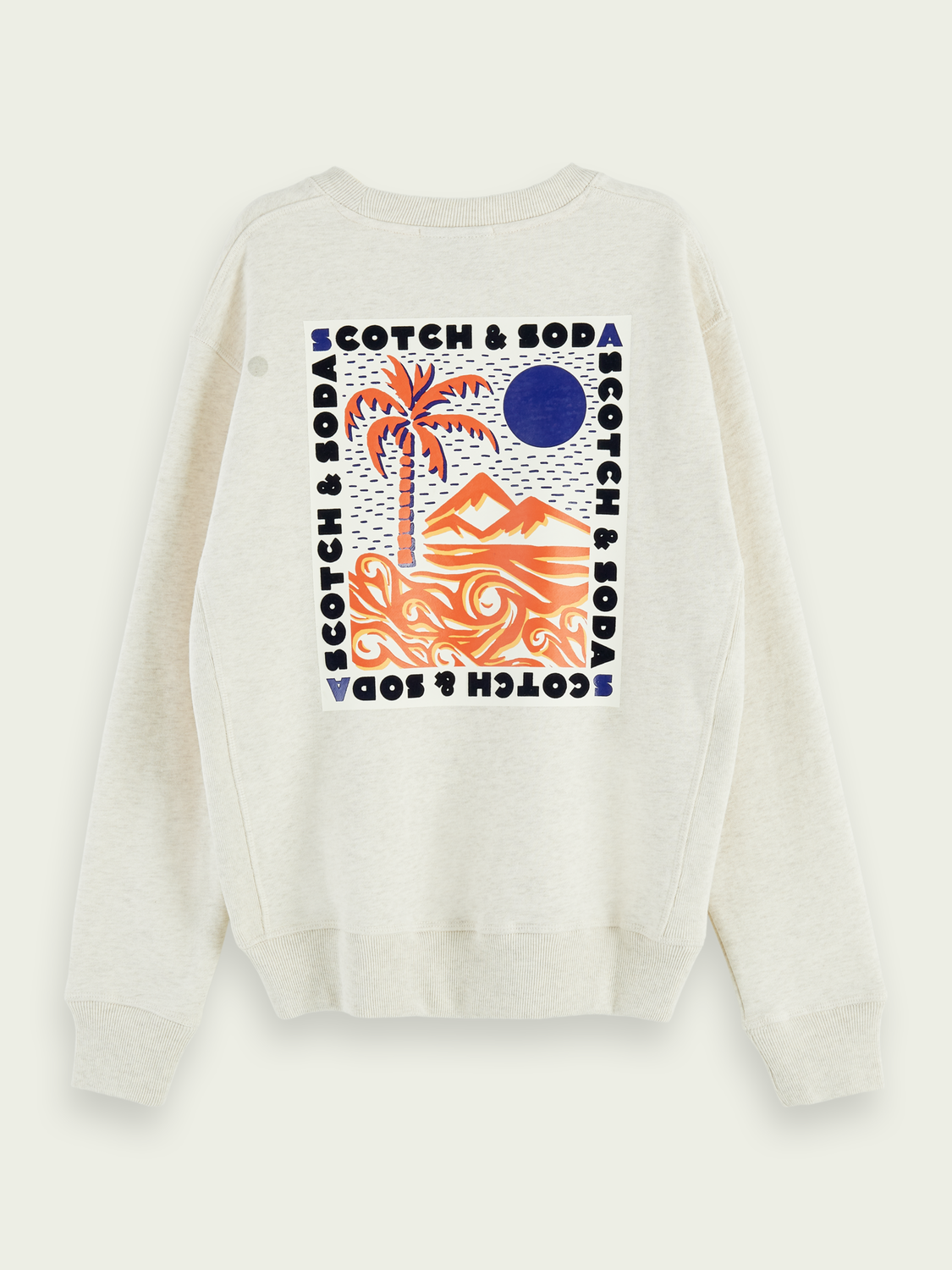 Damen Langärmliges Sweatshirt mit Artwork