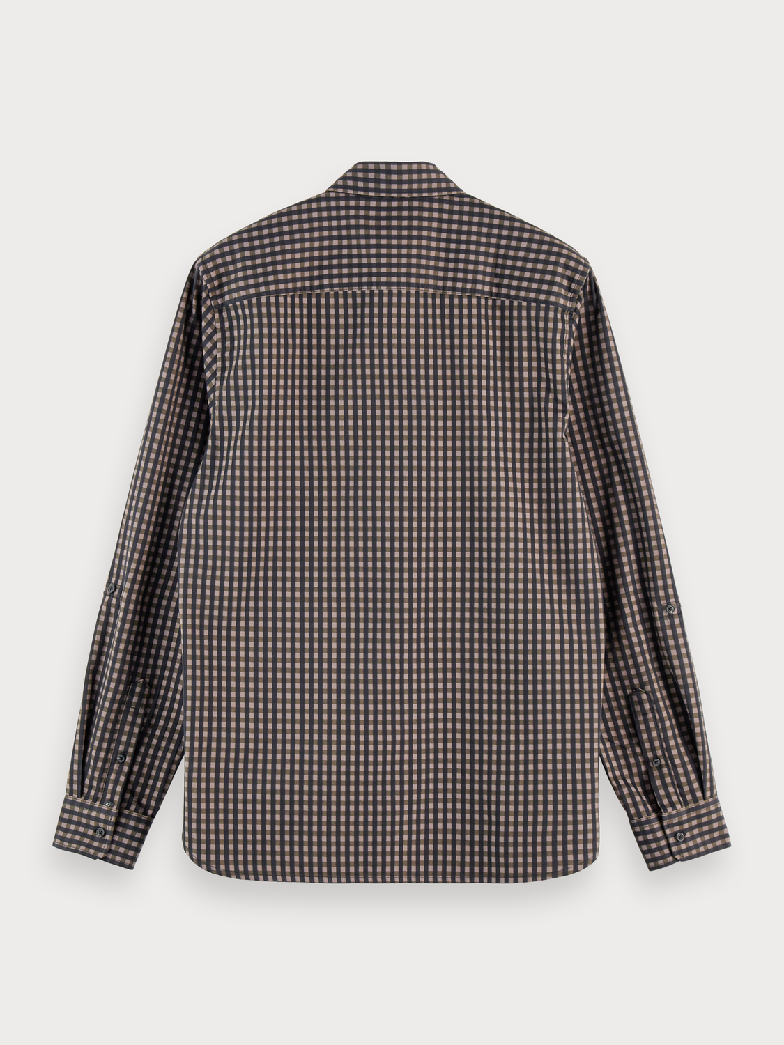 Herrar 100% cotton BB-check shirt