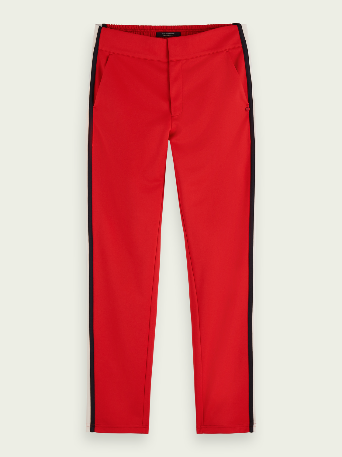 Women Sporty mid-rise tailored sweatpants