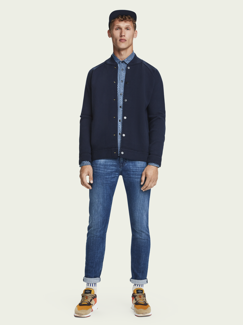 Scotch & Soda Tye - Daily Icon   Mid rise slim carrot fit jeans
