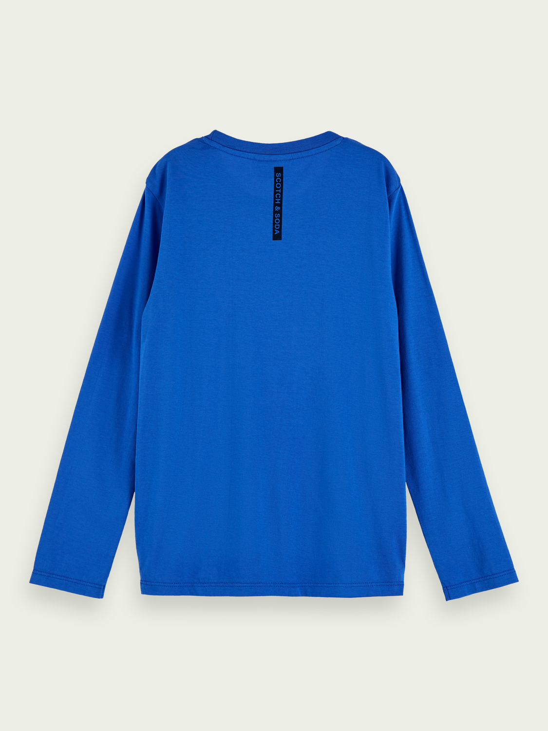 Kids 100% cotton Blauw long sleeve t-shirt