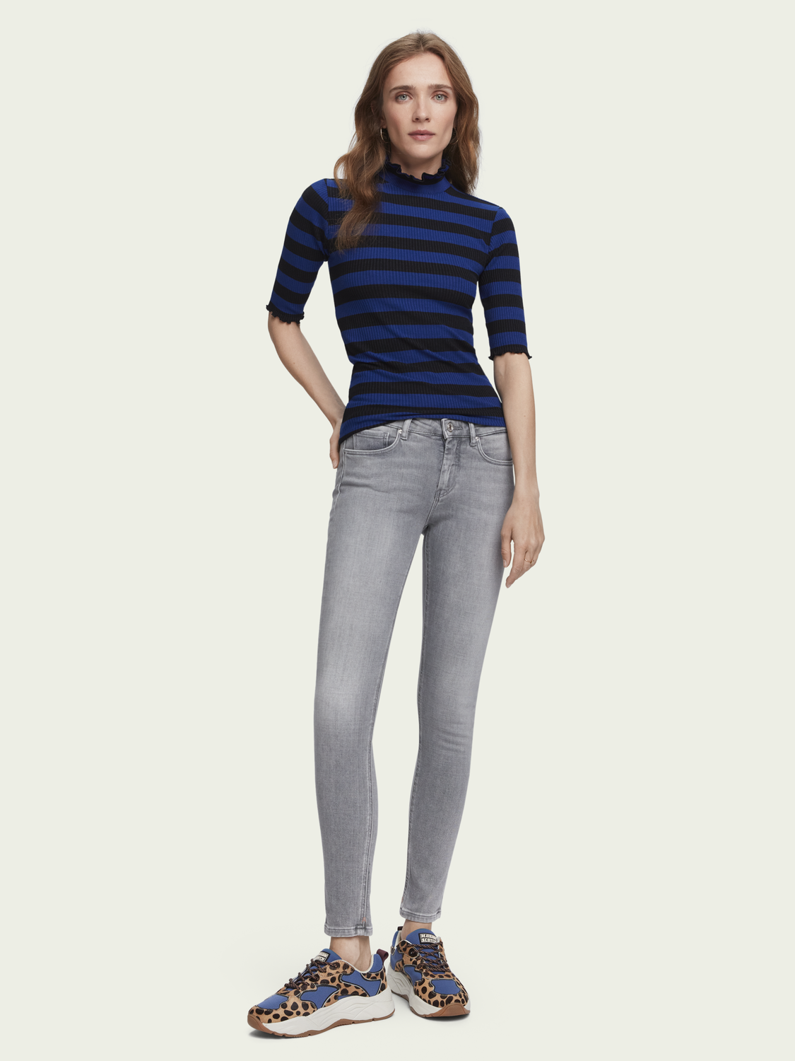 Dames La Bohemienne - Rough Rocks Light | Medium-rise skinny fit jeans