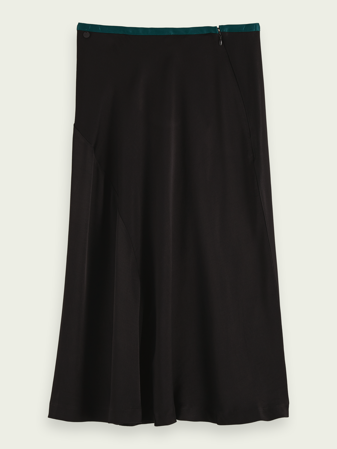 Kids Drapey cut midi skirt