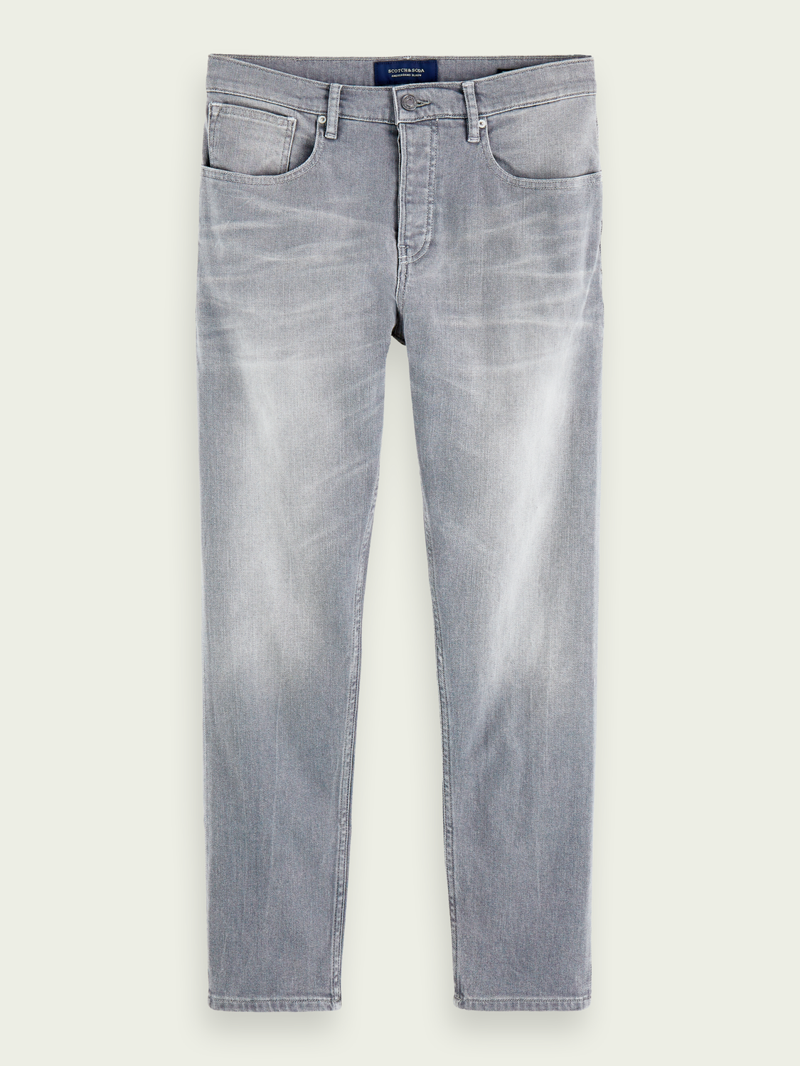 Heren The Norm - Stone And Sand | High-rise straight fit jeans