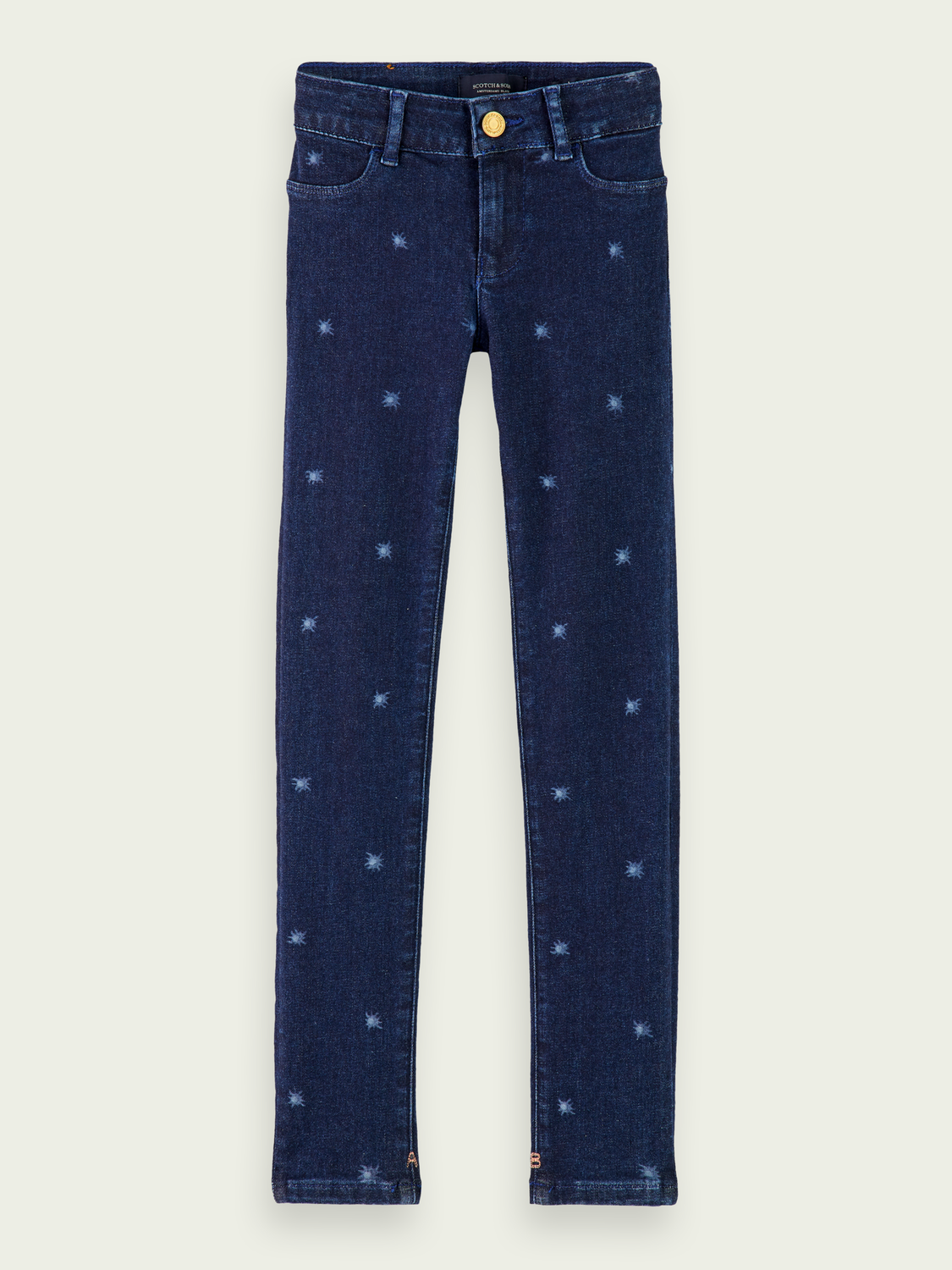 Kids La Milou - Blue Reef | Super skinny fit jeans
