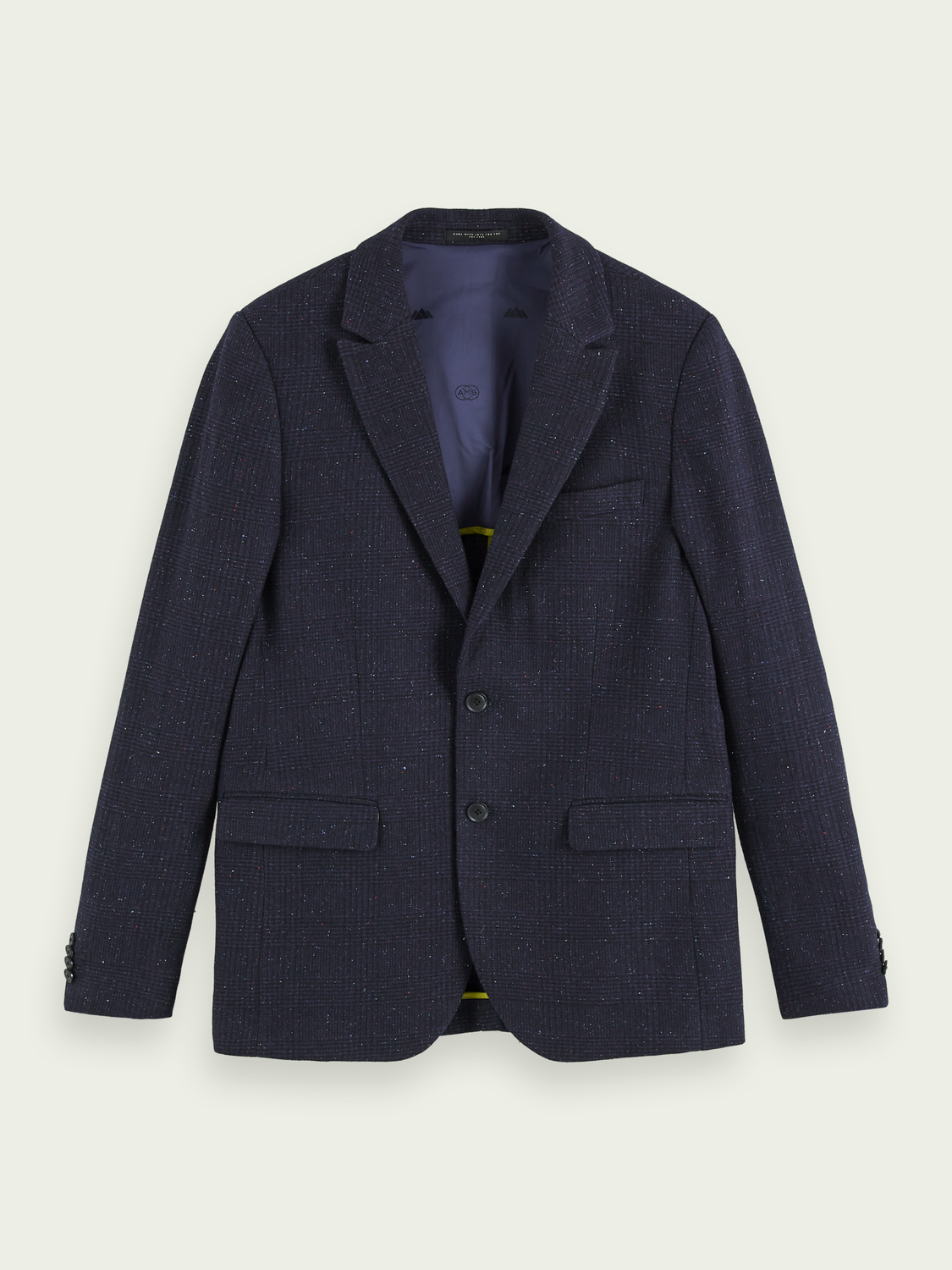 Men Classic single-breasted wool-blend blazer