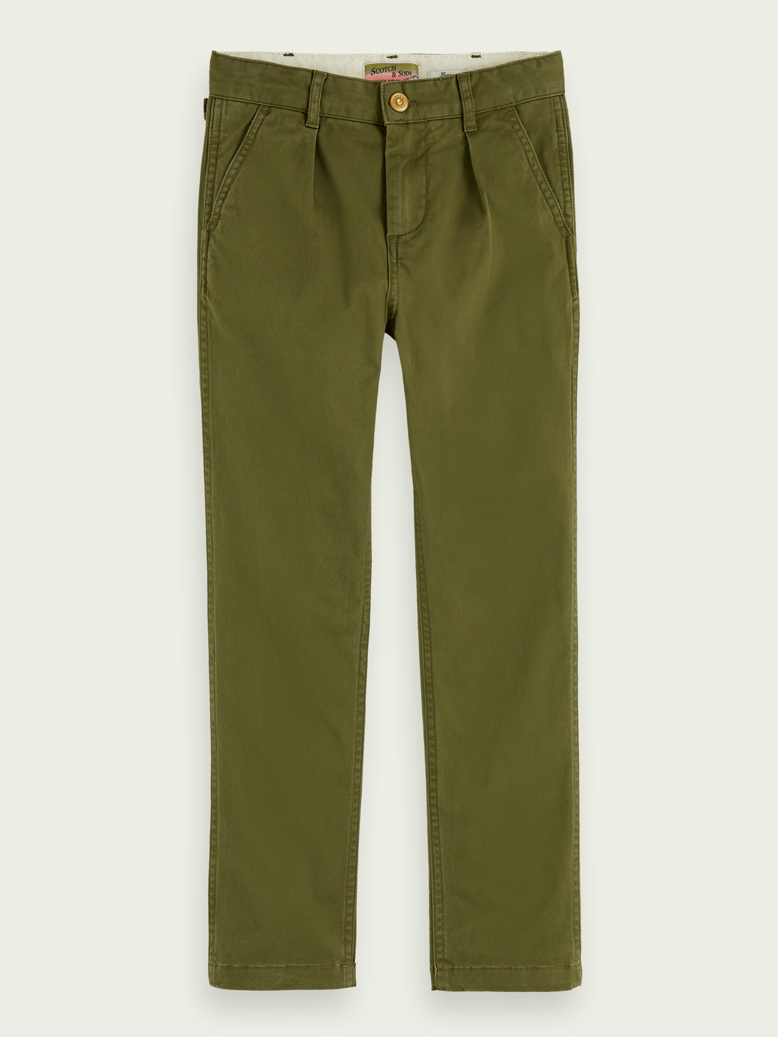 Boys Printed worker-style pants | Loose fit