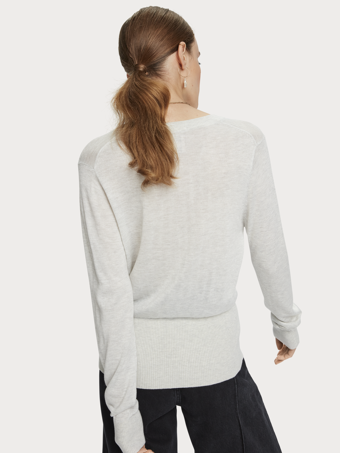 Damer Lightweight wool-blend pullover