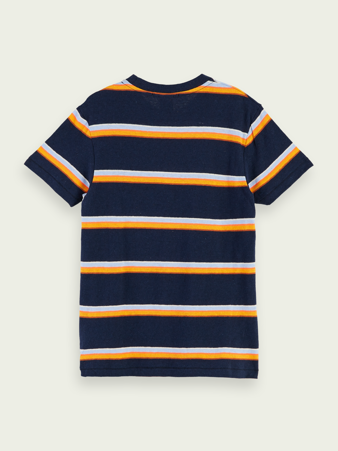 Kids Cotton-linen blend short sleeve t-shirt