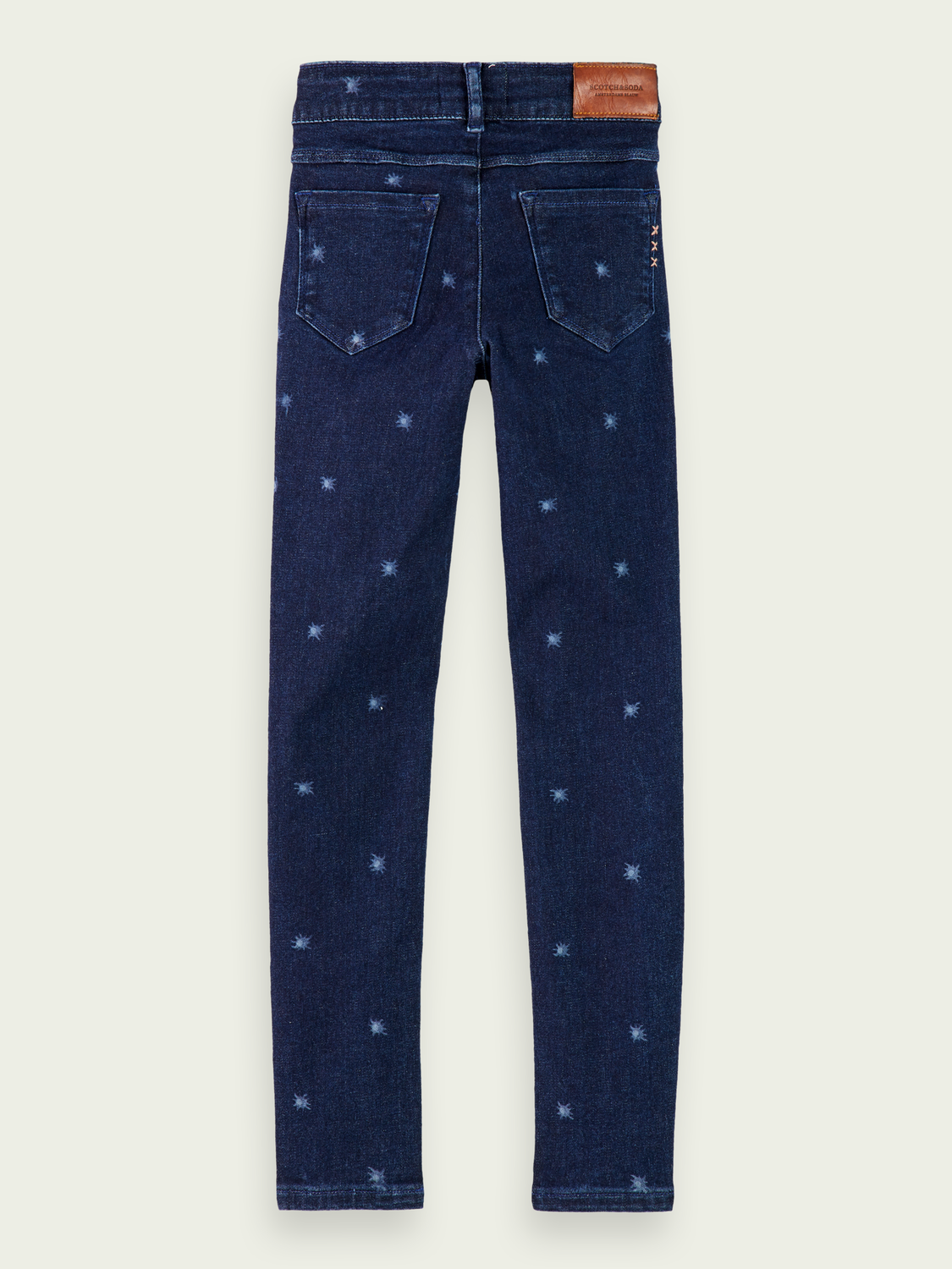Girls La Milou - Blue Reef | Super skinny fit jeans