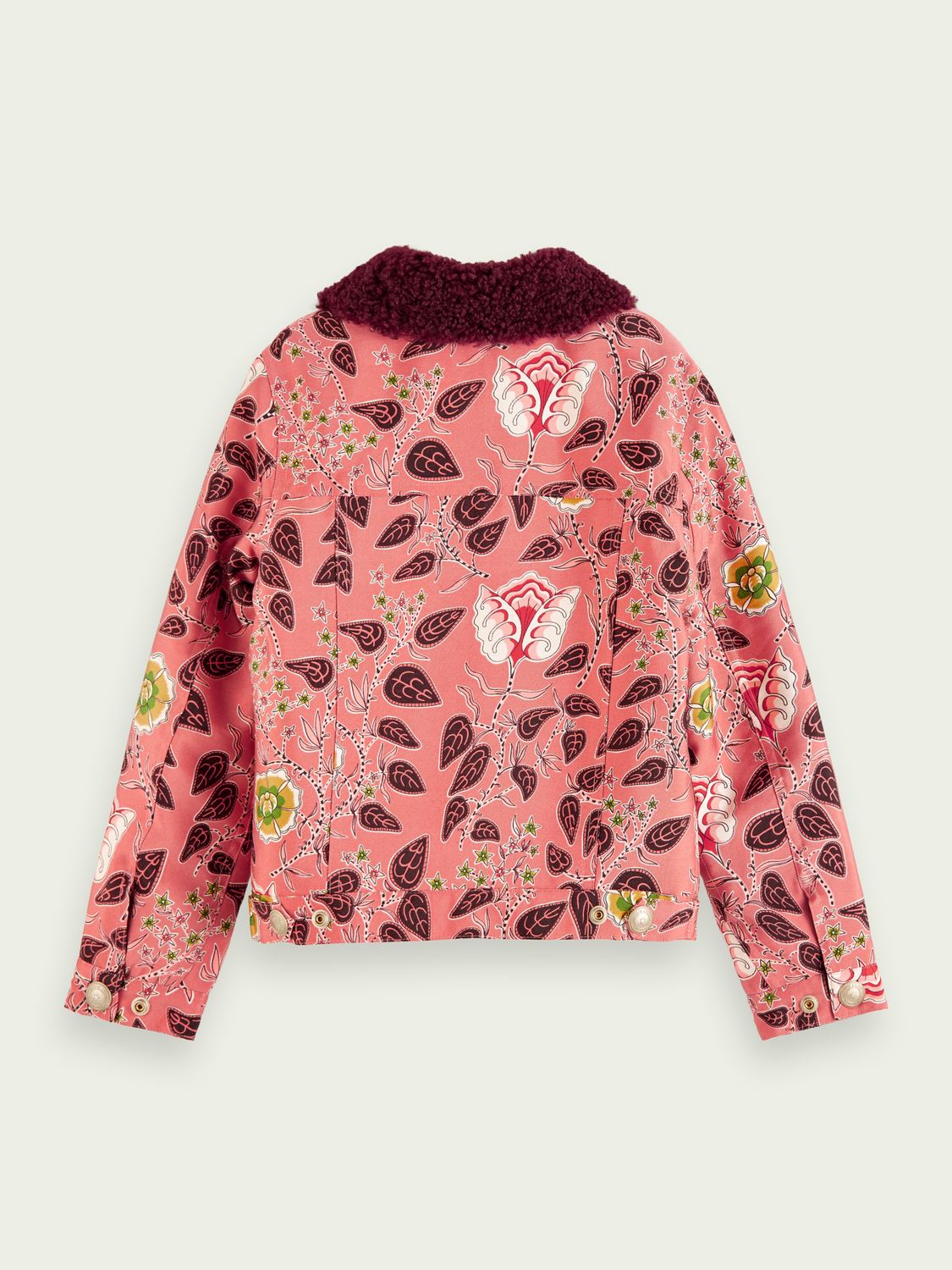 Kids Teddy collar trucker jacket