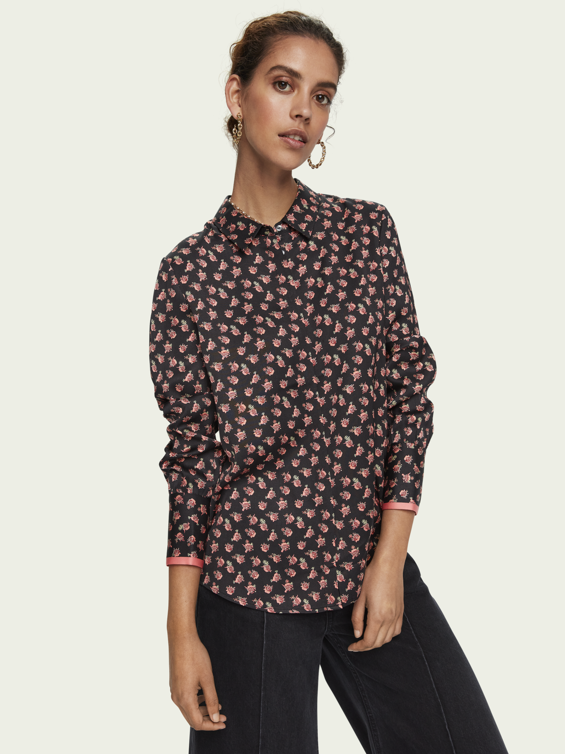 Damen Langärmliges Shirt im Regular Fit
