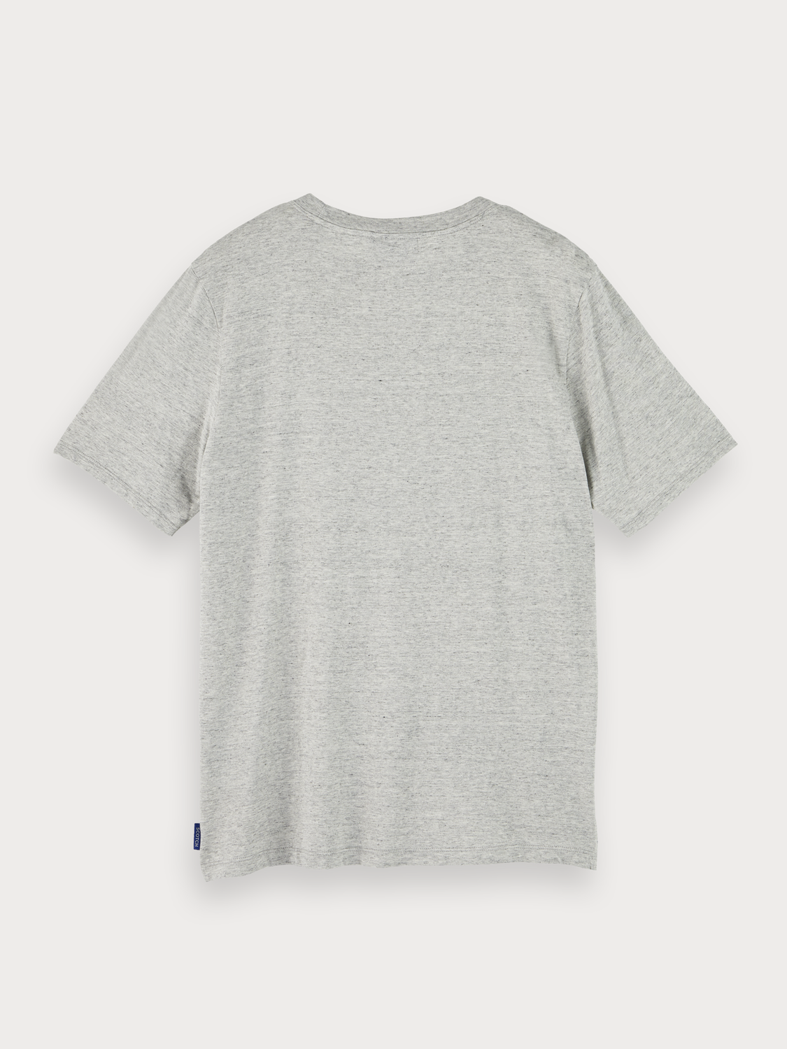 Hombre Blauw sustainable cotton short sleeve t-shirt