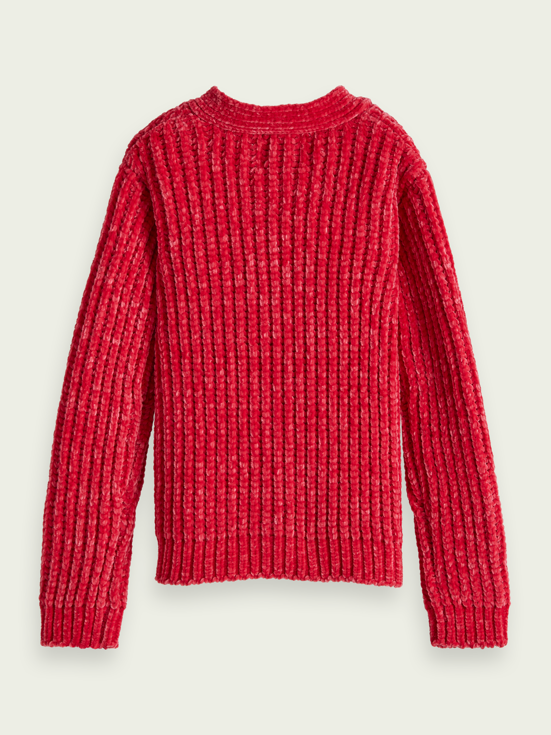 Girls Knitted chenille cardigan