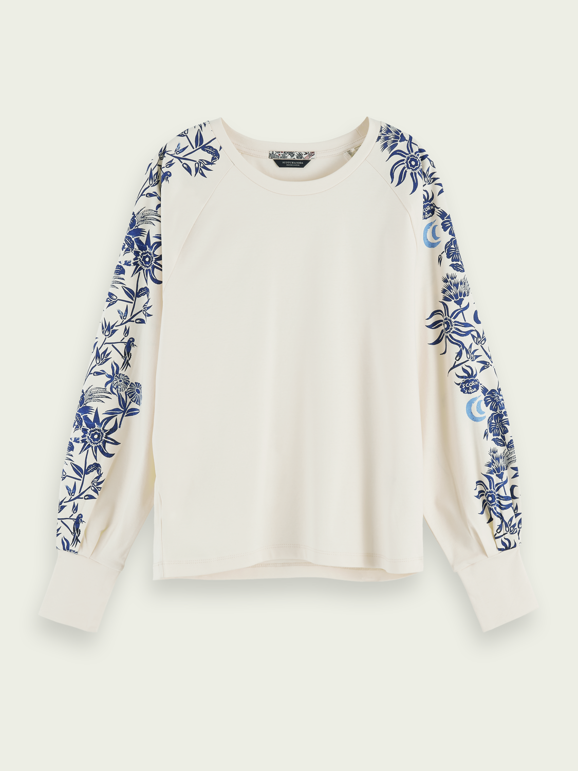 Women Printed 100% cotton long sleeve t-shirt